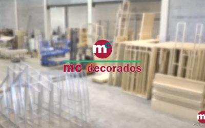 Nuevo vídeo corporativo de MC Decorados