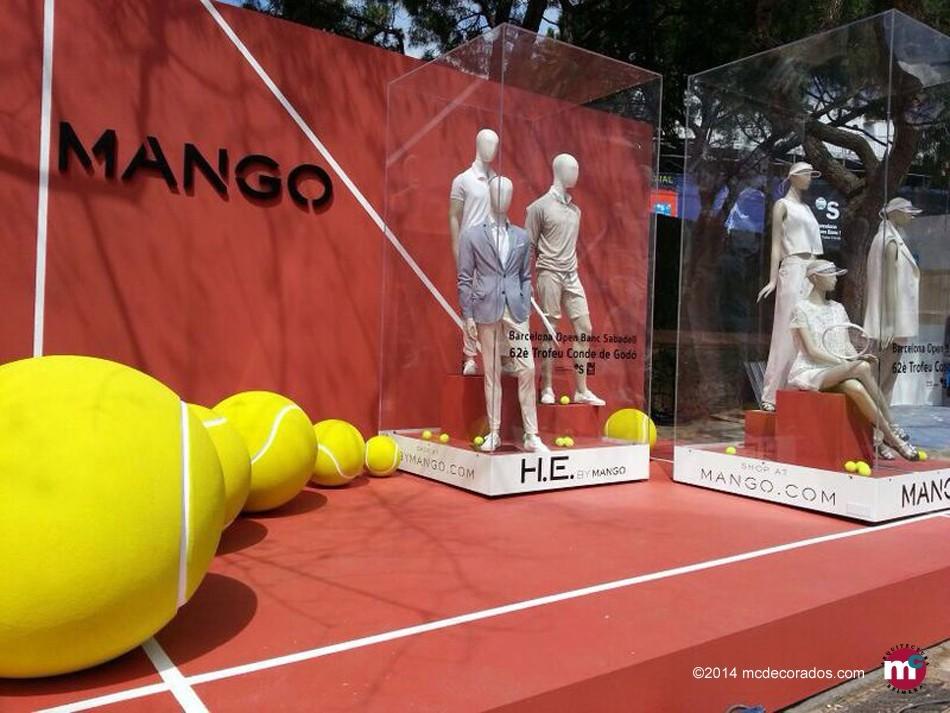 Stand MANGO, Trofeo Godó