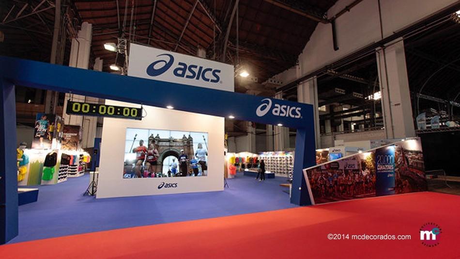 ASICS, Feria Corredor Maratón Bcn 2014