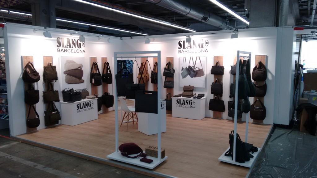 Stand SLANG Barcelona en Frankfurt. Foto cedida por SLANG Bcn.