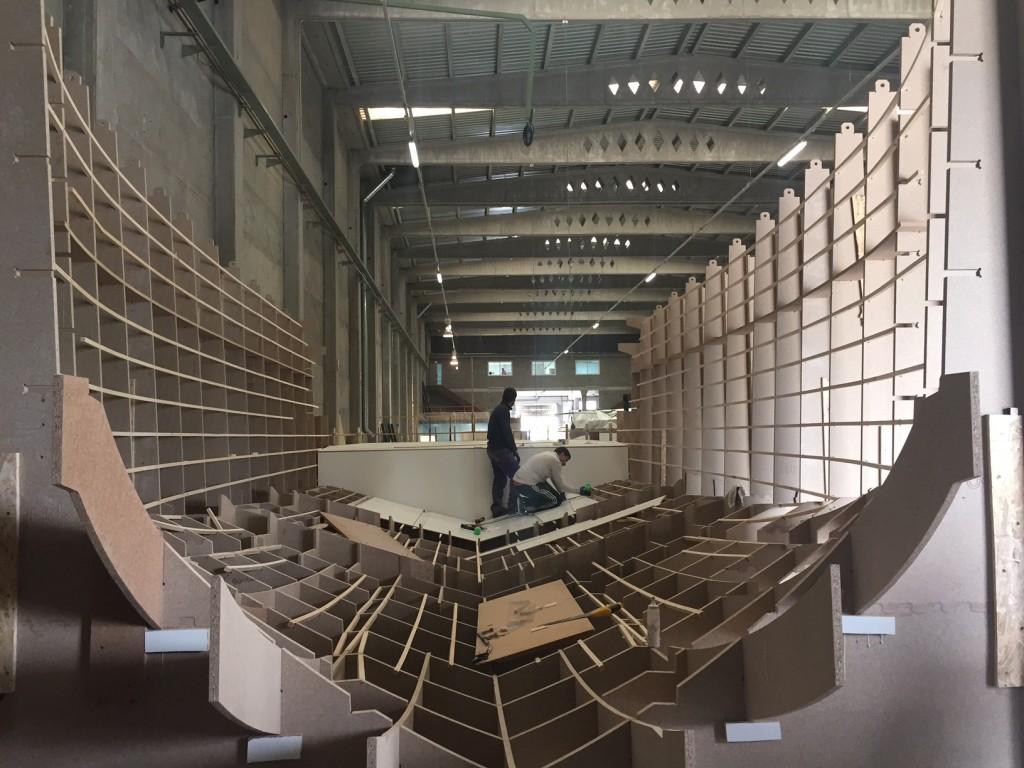 Construcción embarcación