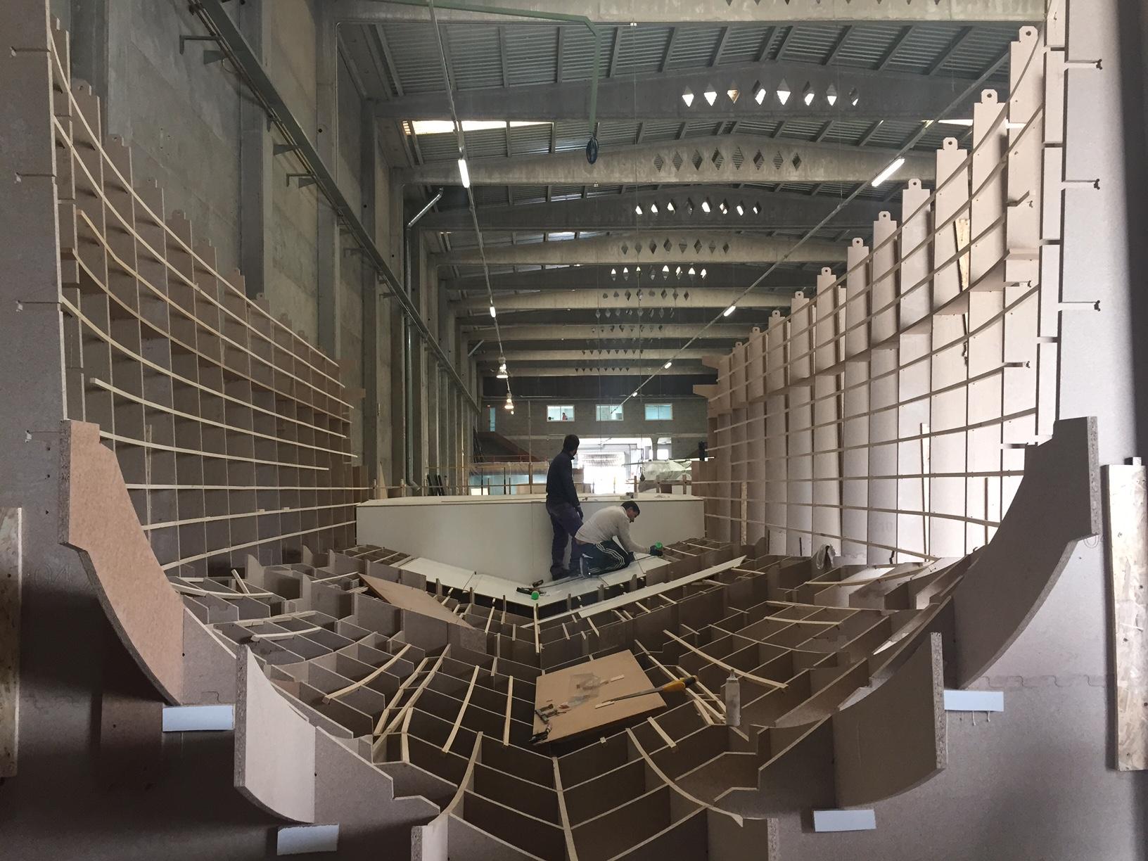 Nos «embarcamos» con De Antonio Yachts en la construcción de un molde de yate