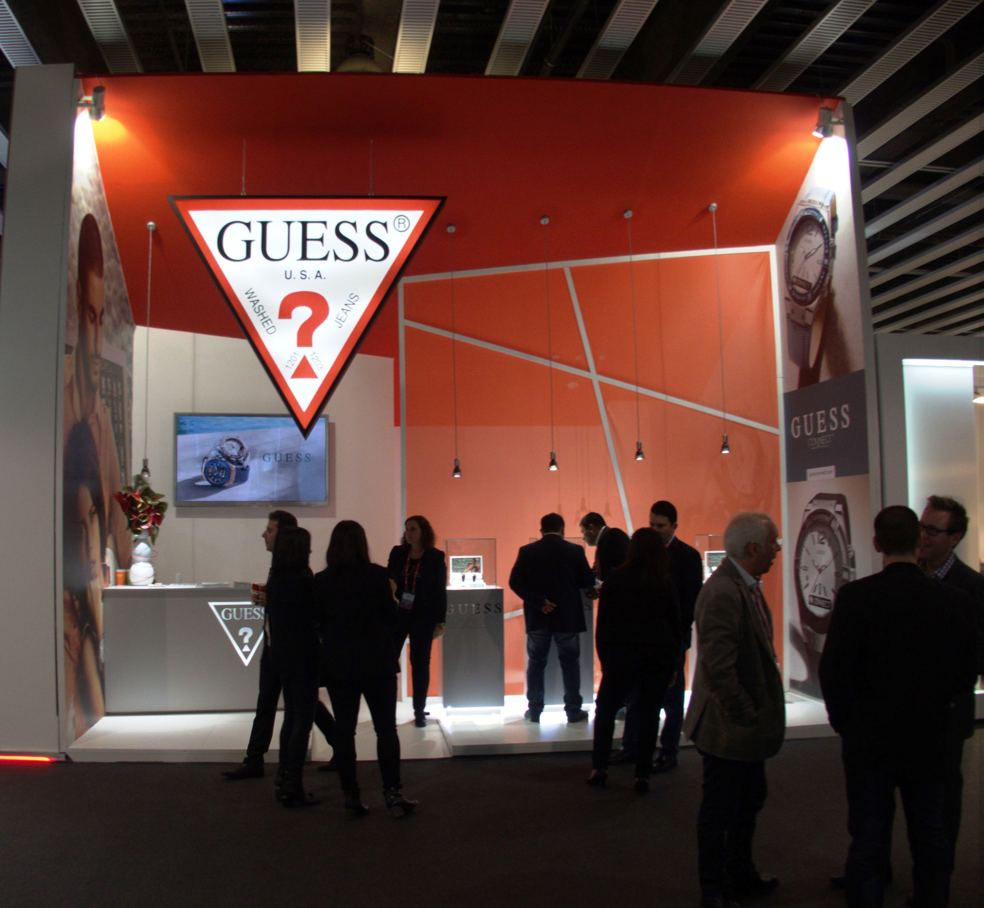 Guess – Stand MWC 2016 Barcelona