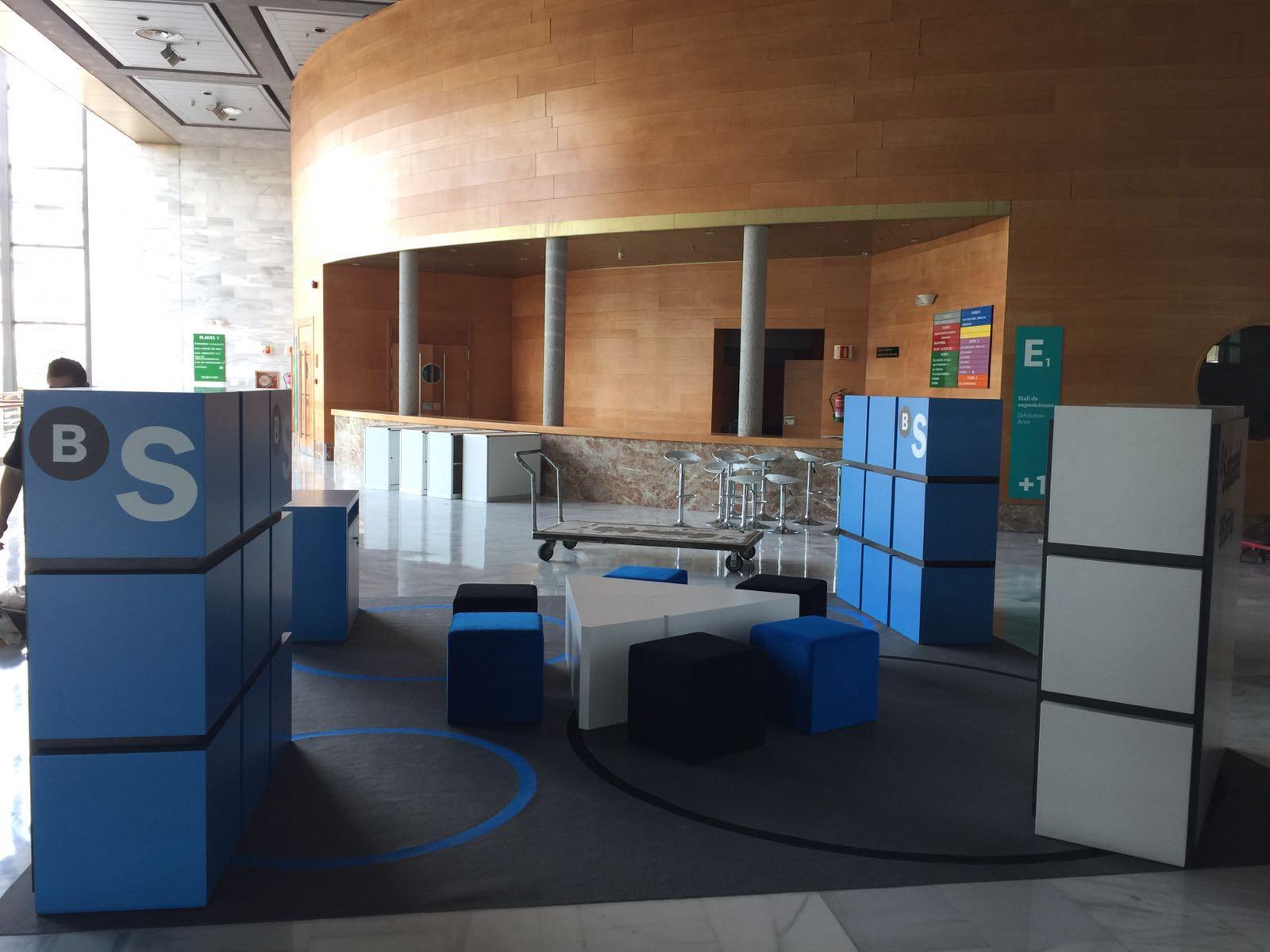 Stand banc Sabadell, Alhambra Venture.