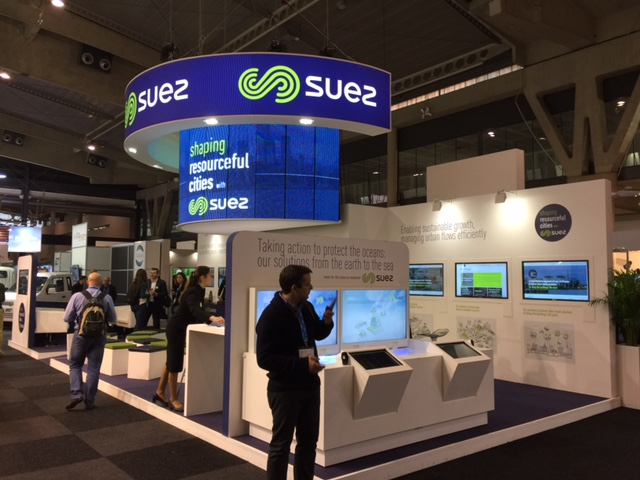 Stand Suez, Smart City Barcelona.