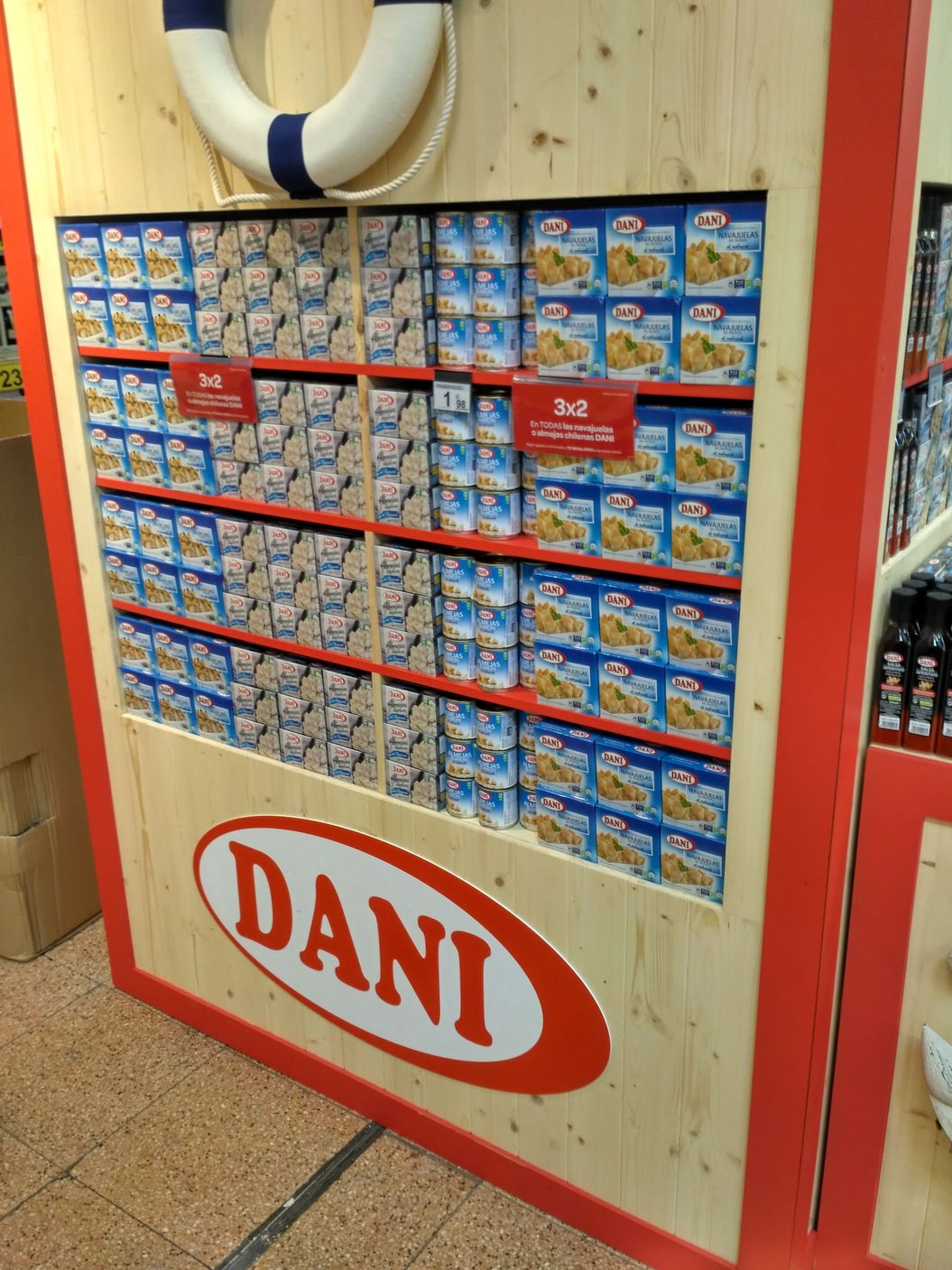 Columna Conservas Dani