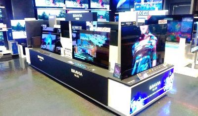 SONY – Furniture for the SONY BRAVIA OLED release