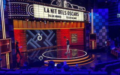 """Escenario para programa TV """"La Nit dels Òscars"""""""