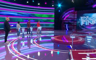 Escenario para programa TV «Código Final»