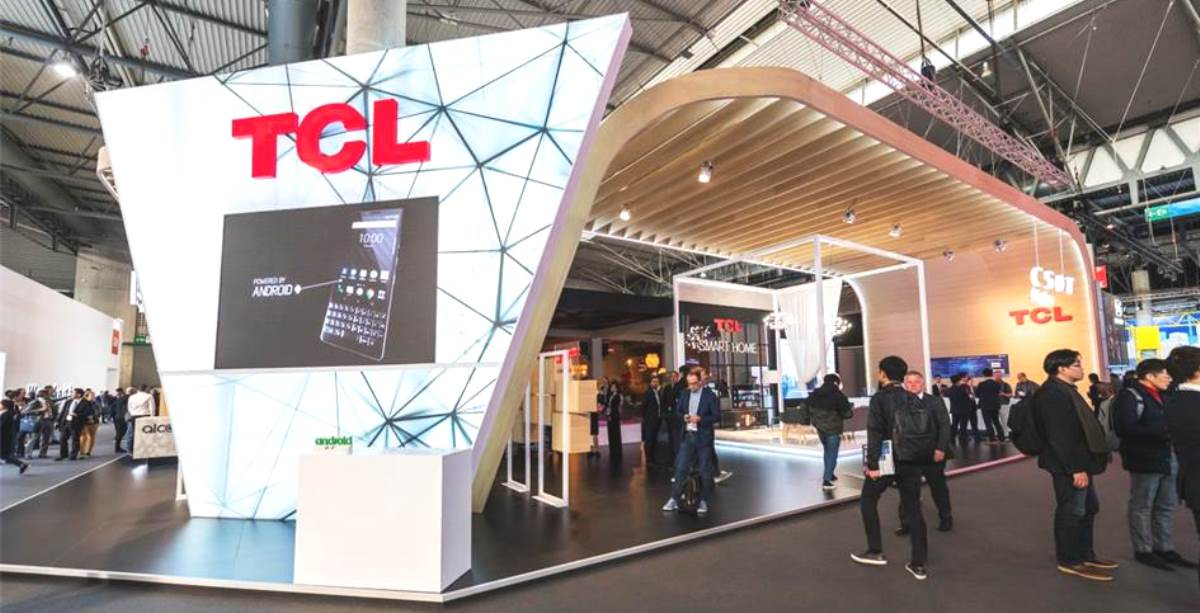 TCL – Stand MWC 2019 Barcelona