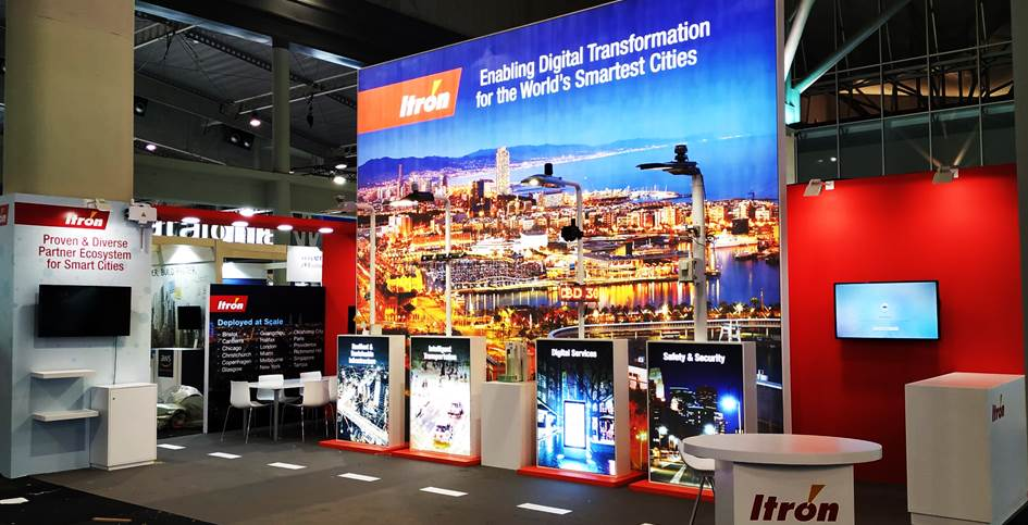 Itron – Smart City World Congress 2019 Barcelona