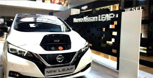 Nissan Leaf L'Illa Barcelona